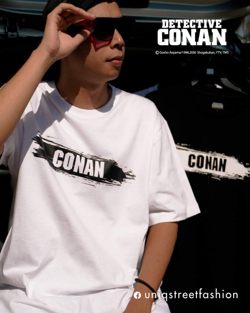 เสื้อ โคนัน ลิขสิทธิ์แท้ รุ่น CN-T062WH